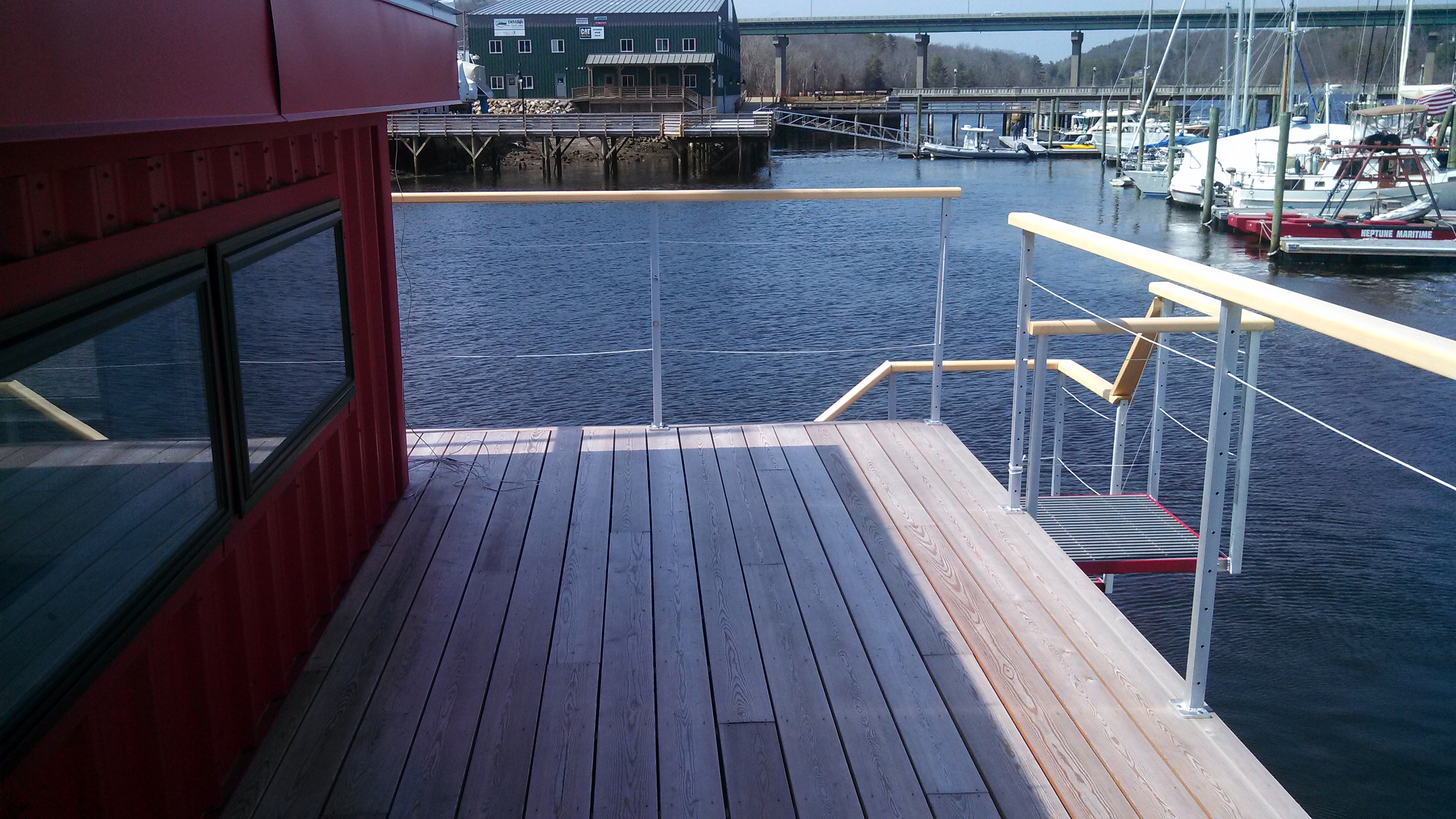 Belfast, Maine - Houseboat