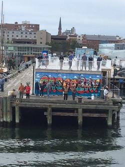 Maine State Pier concert venue