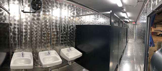 Commercial Bathroom Container