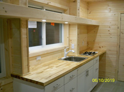 160 sq ft Tiny home