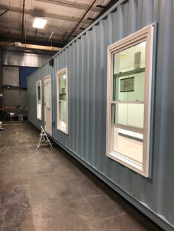 Single container home