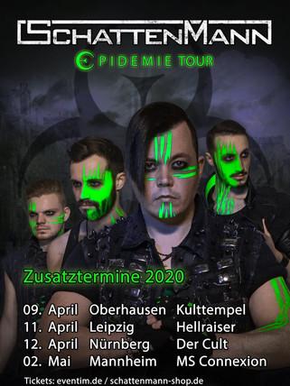 SCHATTENMANN EPIDEMIE TOUR 2020