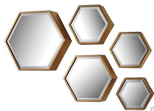 L Hexagonal Mirror
