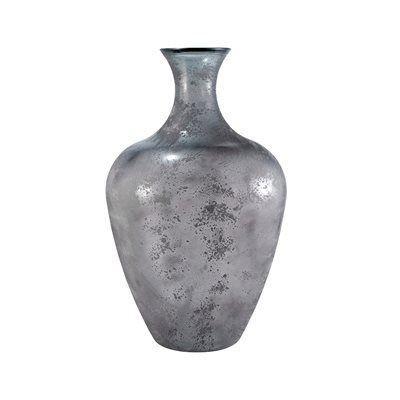 Grey sm. ceramic vase