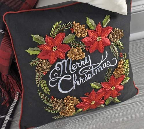 "16"" Merry Christmas Pillow"