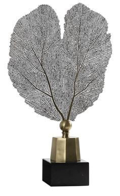 Stamped Leaf Sculpture