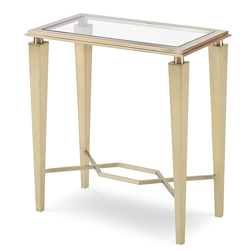 Brass Accent Table
