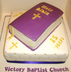 Church  Anniversary Cake