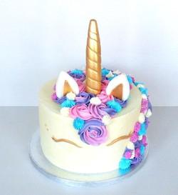 Unicorn Buttercream Birthday Cake