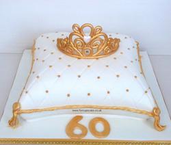 Tiara Cushion Cake