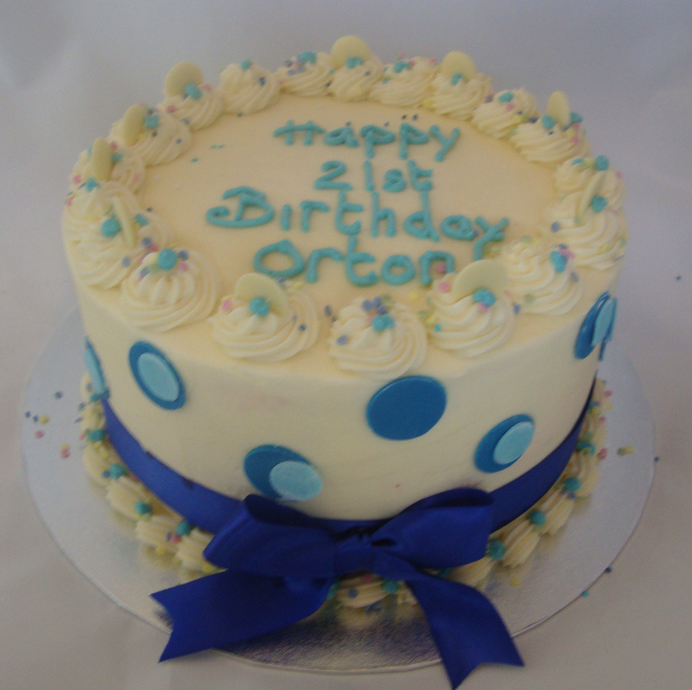 Fondant Decorations on Red Velvet Birthday Cake