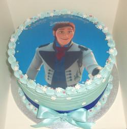 Prince Hans Birthday Cake