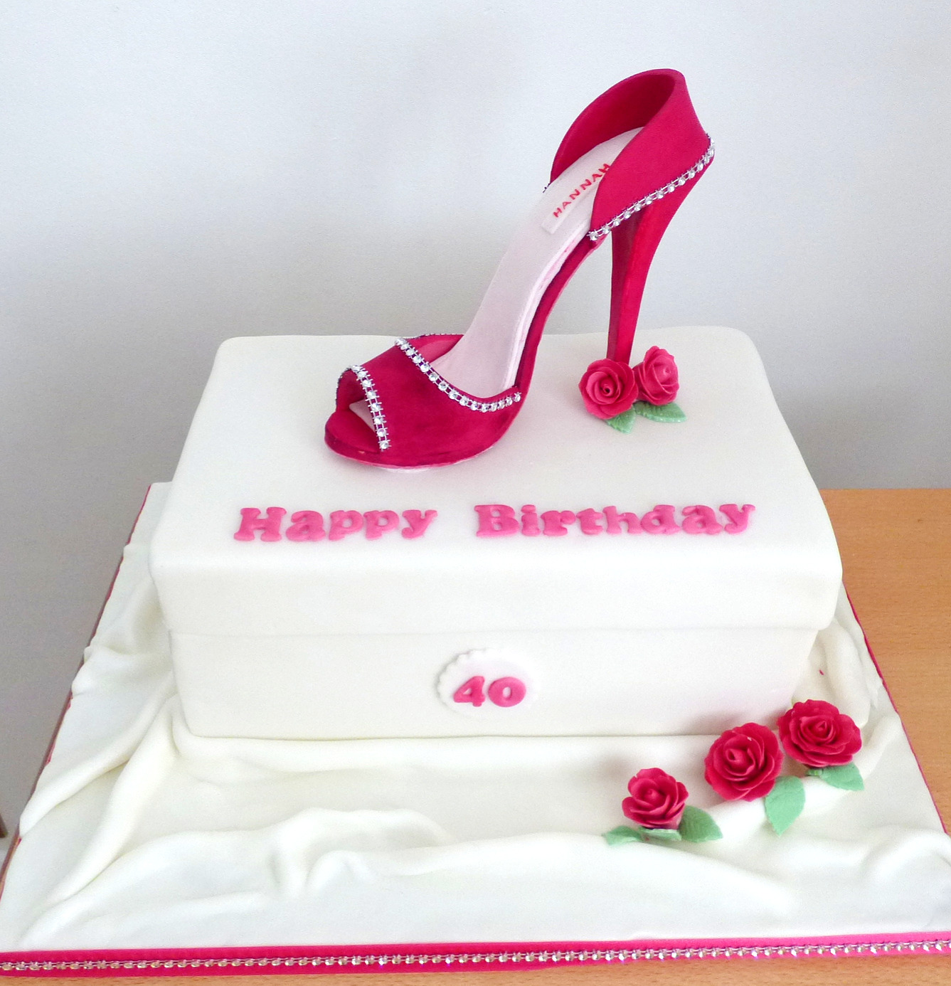 HighHeel Shoebox Cake