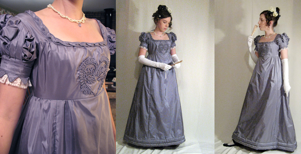 1820 Evening Gown