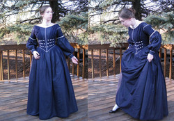 1840 Cotton Voile Day Dress