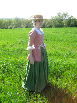 1770s Jacket and Petticoat