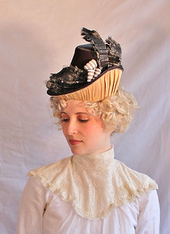 Victorian 1880s inspired hat