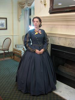 1860s Wool Dress