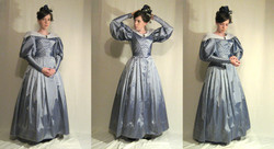 1830 Silk Day Dress