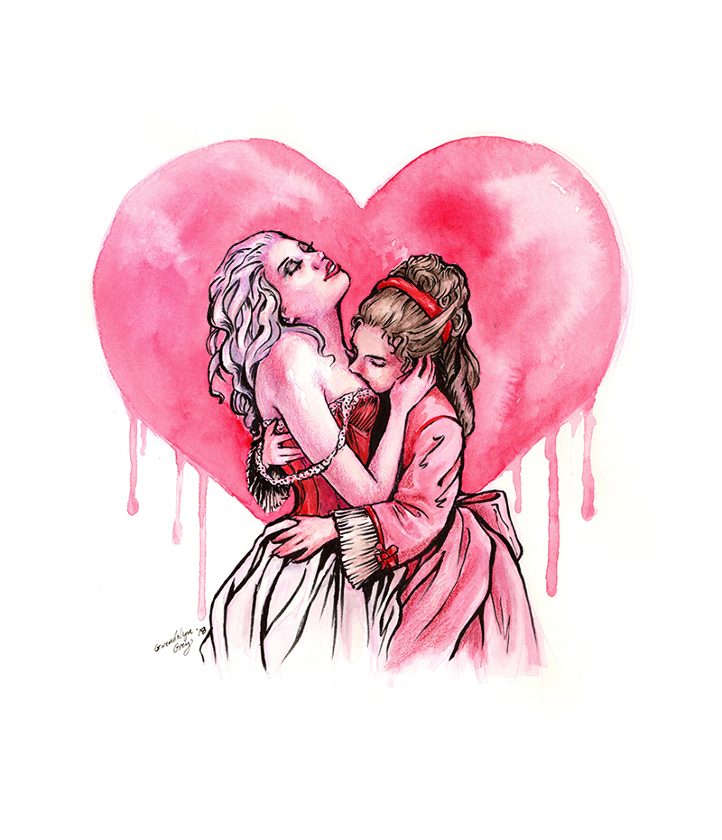 Victorian Valentine Lesbians small