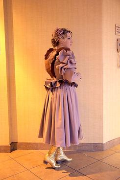 Pastel Gay 90s Steampunk Dress
