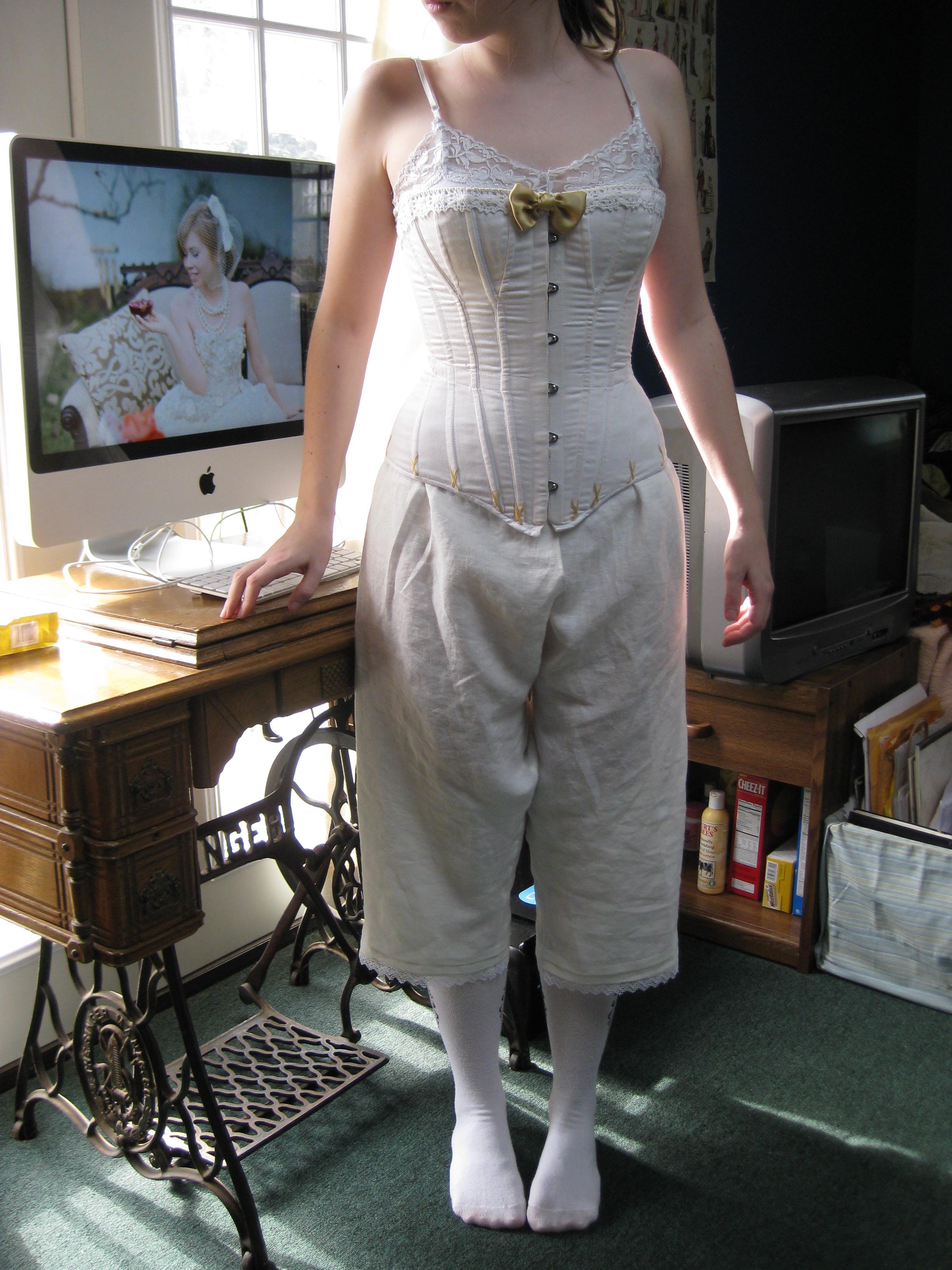 1860s Undergarments