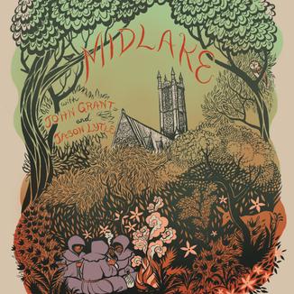 Poster - Midlake European Tour Poster (2011)