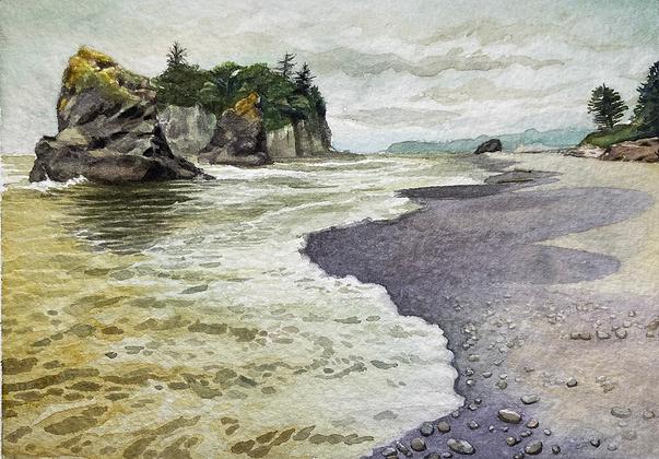 """Ruby Beach"" (Olympic Peninsula, Washington)"