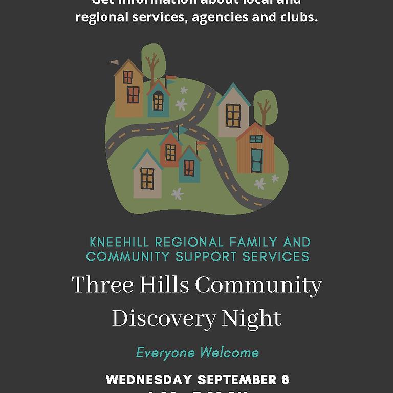 Three Hills Community Discovery Night