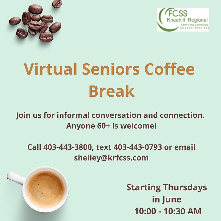 Virtual Seniors Coffee Break