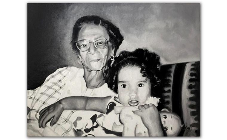 Grandma & Grand Daughter