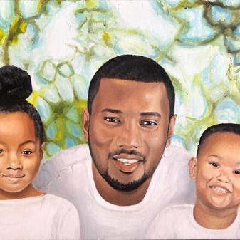"11""x14"" Oil on Canvas 2020"