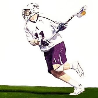 Lacrosse Portrait