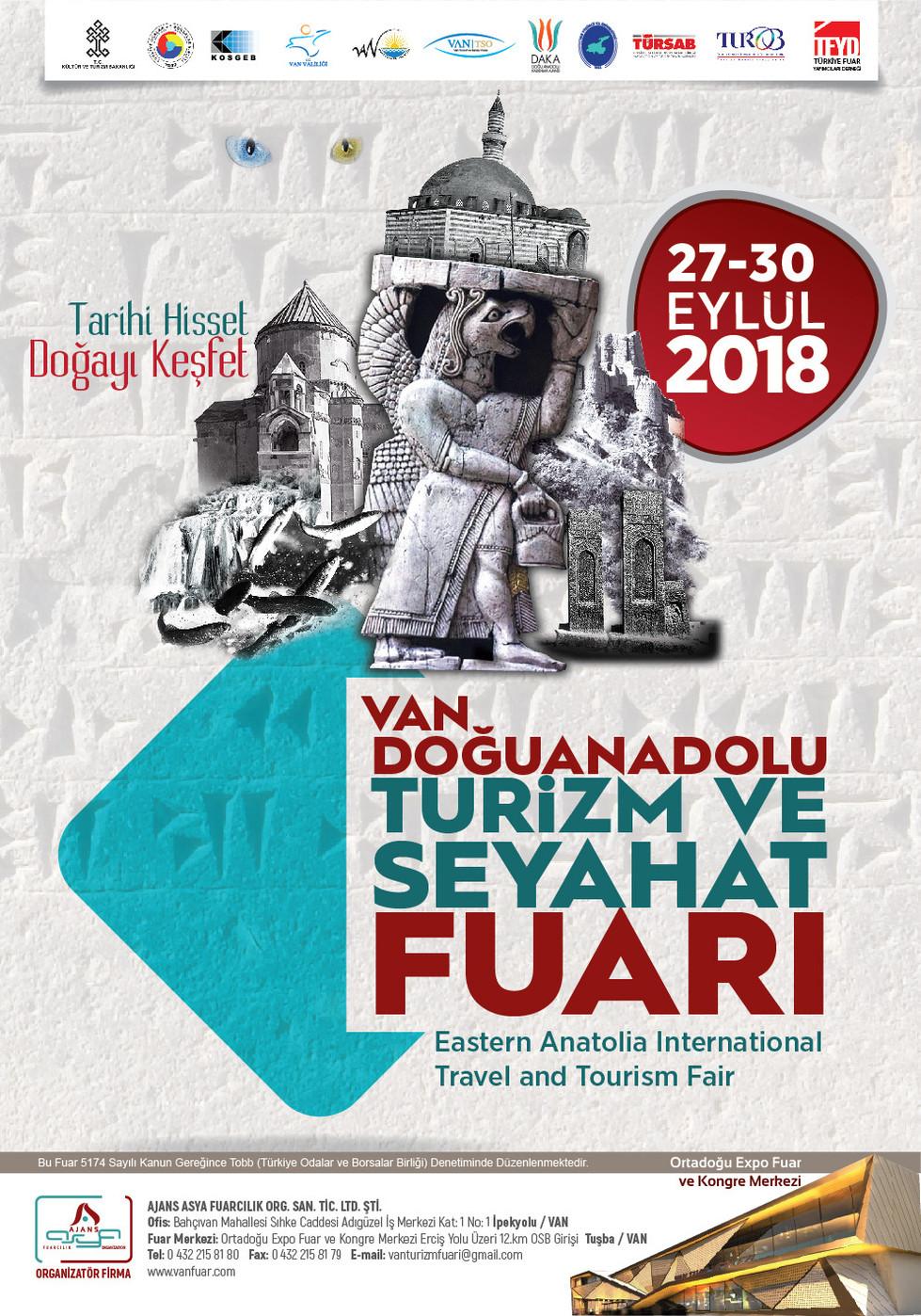 Выставка «ОТДЫХ  И ПУТЕШЕСТВИЕ» пройдет в городе ВАН (ТУРЦИЯ)