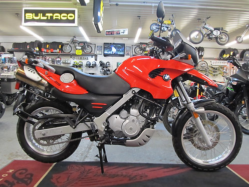 2001 BMW F650GS - SOLD !!!