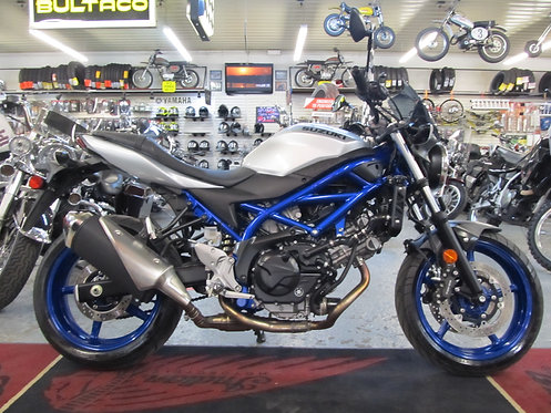 2020 Suzuki SV650 ABS- SOLD !!!