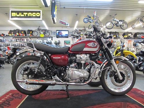 2020 Kawasaki W800 - 828 Miles !!!