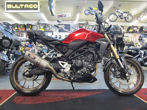 2020 Honda CB300R ABS - 111 Miles !!!