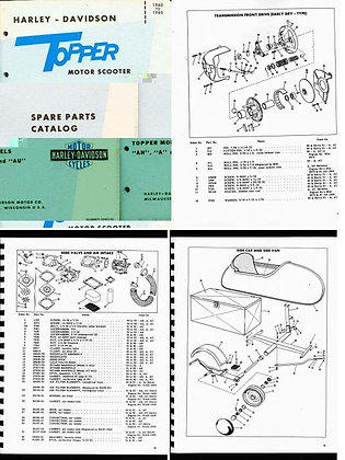 1960-65 Topper Spare Parts Catalog