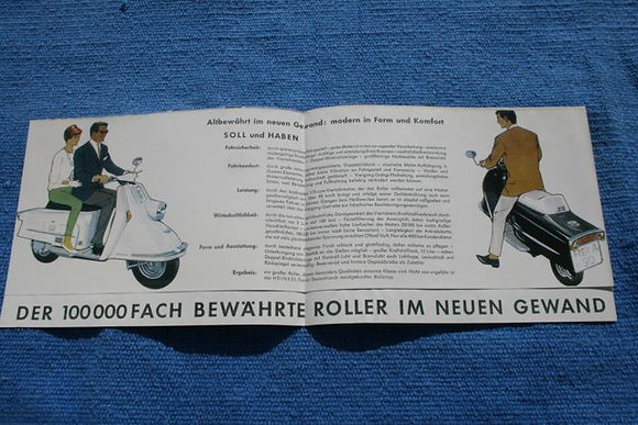 Heinkel Sales Brochure