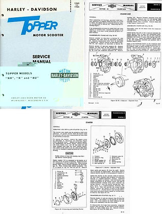 1960-1965 Topper Service Manual