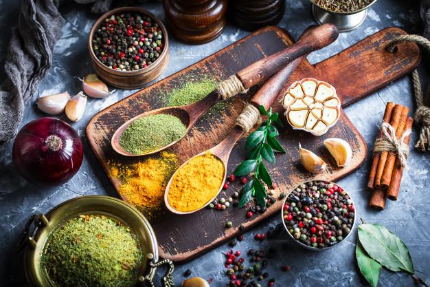 Temperos naturais: ingredientes saudáveis e deliciosos