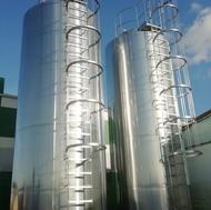 Термос молочный вертикальный 30000 л