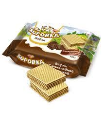 Korovka Chocolate Wafers