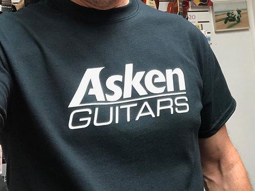 Asken Guitars T-Shirt - Black