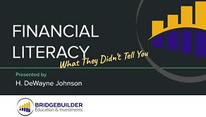 Financial Literacy Presentation for NCNW