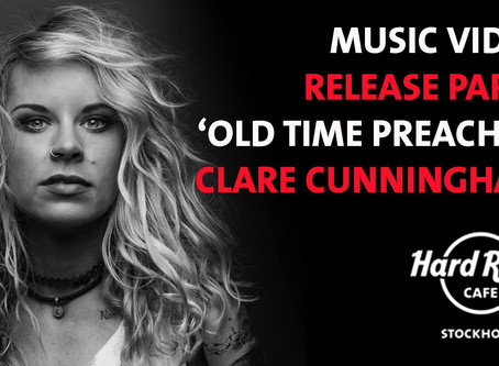 Music video release to 'Old time Preacher' in partnership with 'Hard Rock Cafe', Stockholm