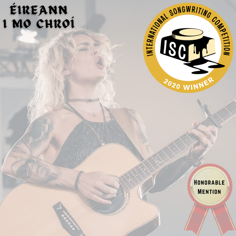 Clare get's HONORABLE MENTION at the International Songwriting Competition (ISC 2020)