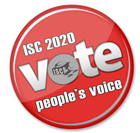 Just announced : Clare is a finalist at the 2020 ISC - results coming soon!!