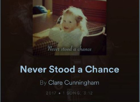New single OUT NOW! 'Never Stood a chance'